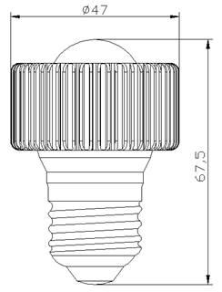 L;ED射灯结构