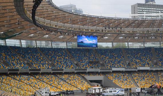 2012乌克兰欧洲杯赛场p20球场LED显示屏