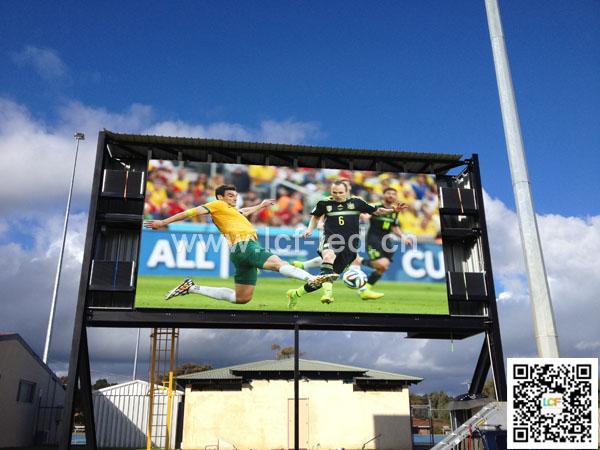 澳大利亚球场P10户外赛事全彩显示屏