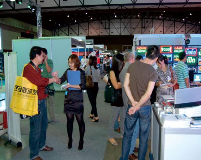 第八届泰国国际广告标识博览会联诚发展位