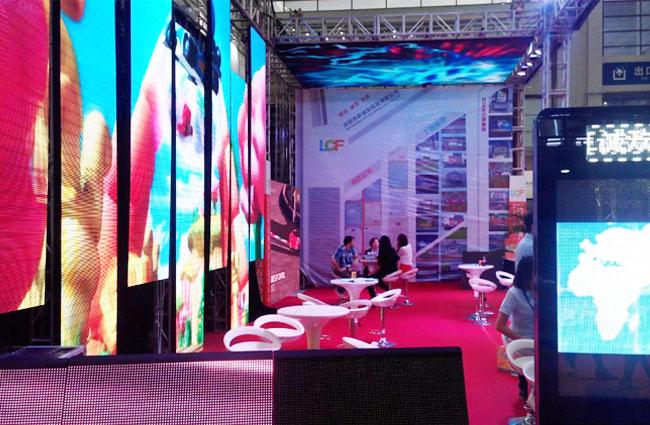 第16届中国国际光电博览会展会现场