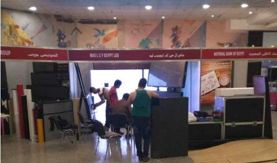 联诚发埃及LED显示屏展会