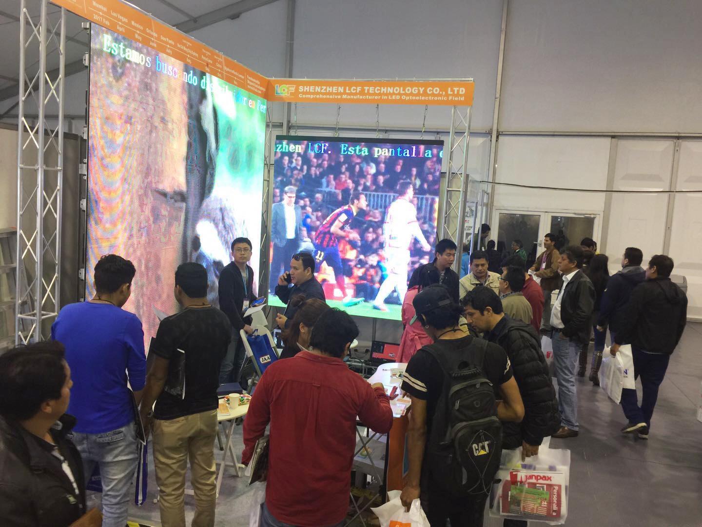 供不应求!千赢国际娱乐qy288秘鲁国际广告展收获满满