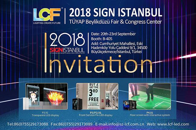 一起去浪漫的土耳其!一起去SIGN ISTANBUL广告展!