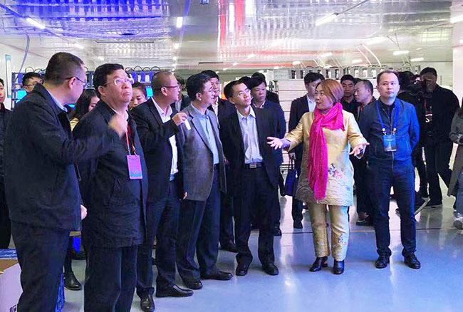 贵州省领导莅临联诚发子公司联顺达观摩并指导工作