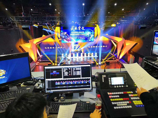 当LED大屏遇上电子竞技,自然一起游戏人间!