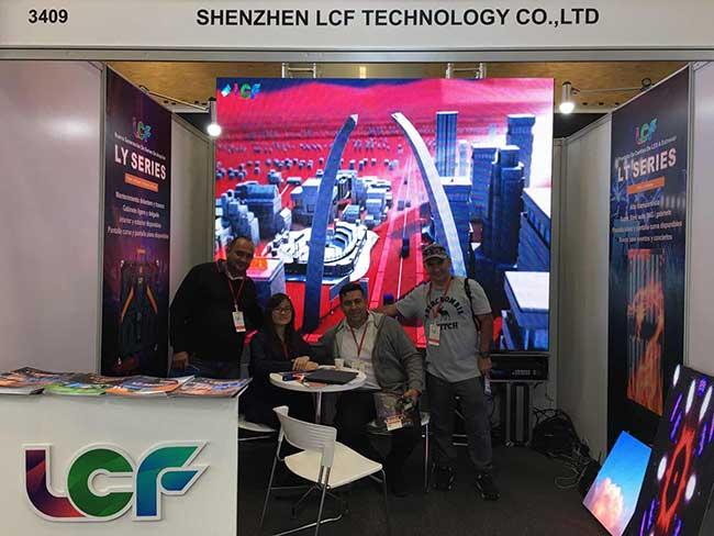 进击哥伦比亚国际展,展现中国LED显示之美!
